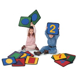 Shape and Number Squares (Set of 20 )