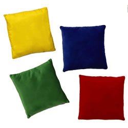 "9"" Textured Pillows - Set of 4"