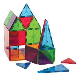 Magna-Tiles® 32-Piece Clear Colors Set