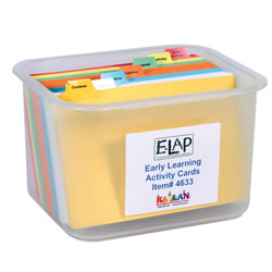 E-LAP™ Early Learning Activity Cards