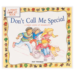 Don't Call Me Special (Paperback)