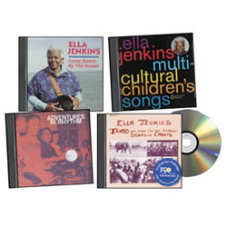 Ella Jenkins - Set of Multicultural CDs