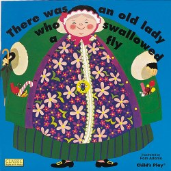 There Was An Old Lady Who Swallowed a Fly - Big Book