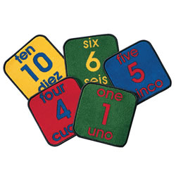 Bilingual Numbers - Set of 10
