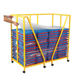 Rest Mat Trolley and Sanitation Dividers