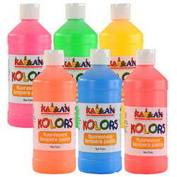 Kaplan Kolors 16 oz Fluorescent Tempera Paint