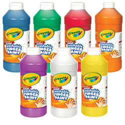 Crayola® Washable Finger Paint 32 oz Plastic Jar