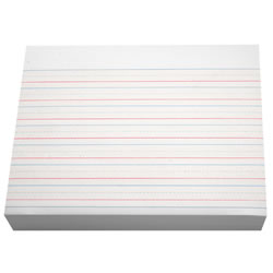 Practice Ruled Paper - Ream (500 Sheets)