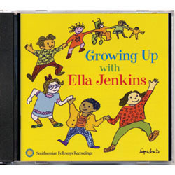 Growing Up With Ella Jenkins CD