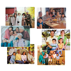 Multi-Cultural Family Puzzle Set (Set of 6)