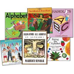 Alphabet Books - Set of 6