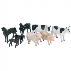 Farm Animals Set - Set of 8