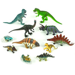 Vinyl Dinosaurs - Set of 11