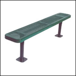 Benches without Backs