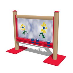 "2-Sided Portable 56"" Art Easel"