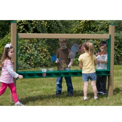 "Wide 80"" Art Easel In-Ground"