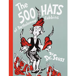 The 500 Hats of Bartholomew Cubbins - Hardback