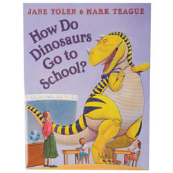 How Do Dinosaurs Go to School? - Hardcover