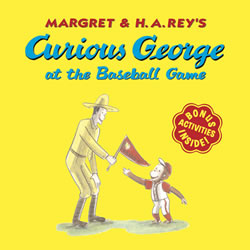 Curious George at the Baseball Game - Paperback