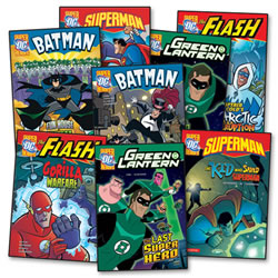 DC Super Heroes Books - Set of 8