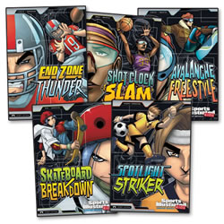 Sports Illustrated Kids: Graphic Novels - Set of 5