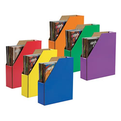Classroom Keepers® Assorted Magazine Holders - Set of 6