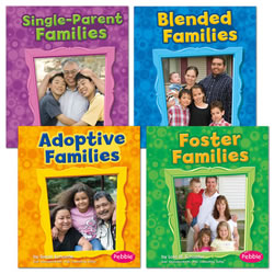 My Family Book Set (Set of 4)