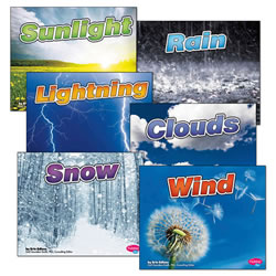 Weather Basics Book Set (Set of 6)