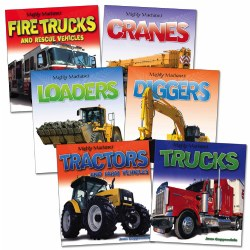 Mighty Machines Books - Set of 6