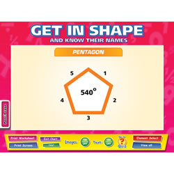 Get In Shape Whiteboard Chart