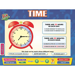 Whiteboard Interactive Time Chart
