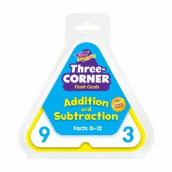 Three-Corner® Flash Cards (Addition and Subtraction)