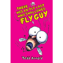 There Was An Old Lady Who Swallowed Fly Guy - Fly Guy #4 - Hardcover
