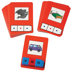 CVC Word Building Cards