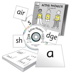 Active Phonics Cards