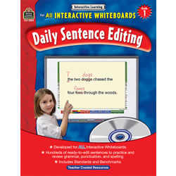 Interactive Learning: Daily Sentence Editing - Grade 1