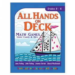 All Hands on Deck Math Games Using Cards and Dice