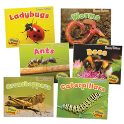 Creepy Critters Rhyme Along Books - Set of 6