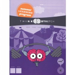 ThinkStretch PreK Summer Workbook and Parent Guide (Pack of 10)