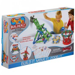 ZOOB® BuilderZ STEM Challenge Kit (220 Pieces)