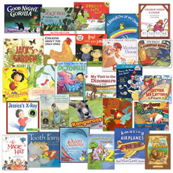 From A to Z Themes for Preschool Learning Centers Book Set (Set of 27)