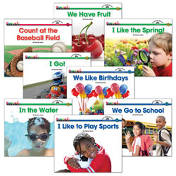 Step 1 Sight Word Book Set (Set of 8)