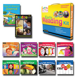 I Can Read!: Early Reading Kit D-E - English