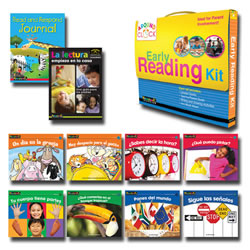 I Can Read!: Early Reading Kit D-E (Spanish)