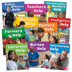 Our Community Helpers Paperback Books - Set of 10