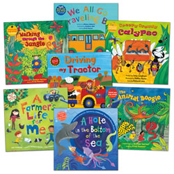 Barefoot Book and CD - Set of 7