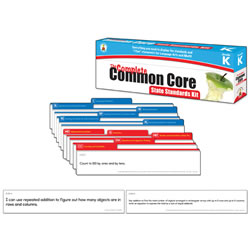 The Complete Common Core State Standards Kit Pocket Chart Cards