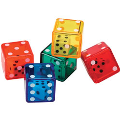 Dice in Dice Set - Set of 72
