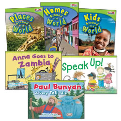 Around the World Book Set (Set of 6)