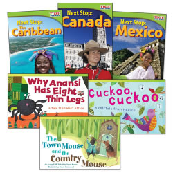 Countries & Regions Books - Set of 6